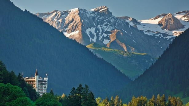 Explore Lake Geneva, Gstaad palace
