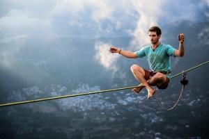 Brian Mosbaugh above Rio de Janeiro