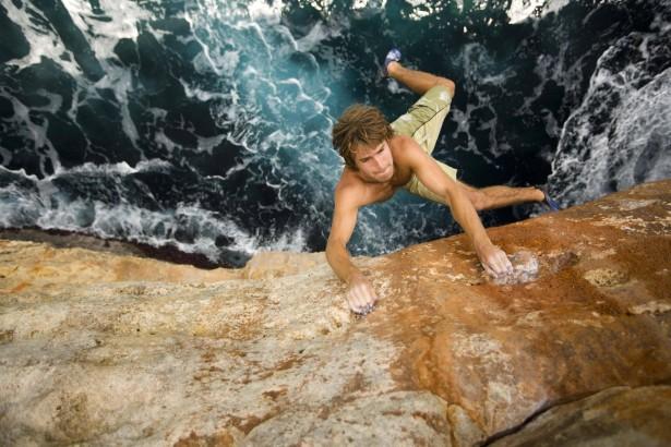 Chris Sharma, an adrenaline junky