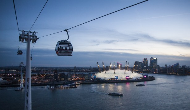 Cable Car in London, The Emirates Air Line