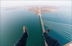 Bridge over the Russkiy Island