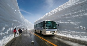 Tateyama Kurobe Alpine Route in Japan, enjoy the ride among the famous snow corridor