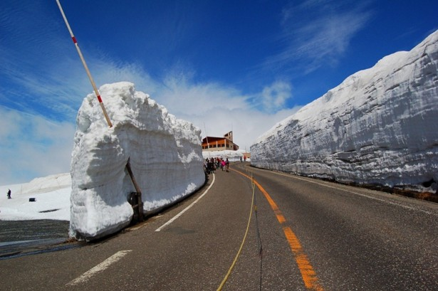 Enjoy The Ride Famous Snow Corridor In Japan