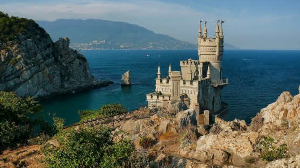 Swallow's Nest castle in Ukraine
