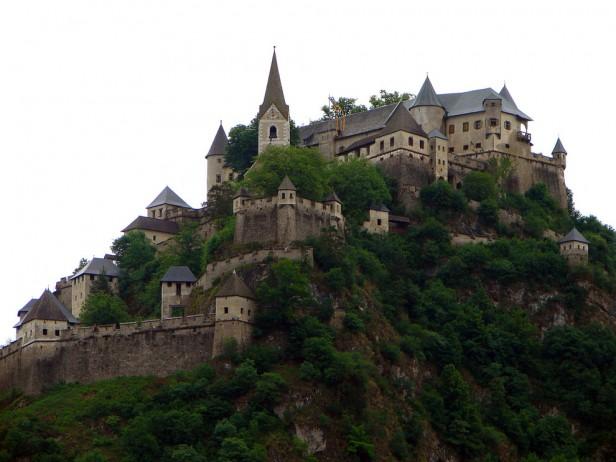 Hochosterwitz Castle in Austia