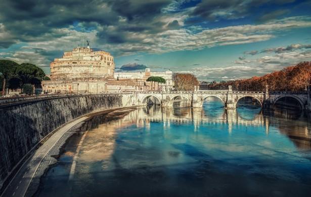 Castel Sant' Angelo in Rome in Italy