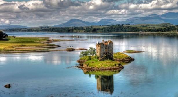 Stalker Castle in Scotland, medieval castles