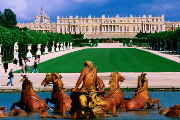 Chateau de Versailles in France