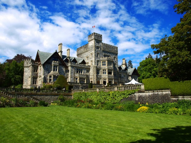 Hatley Castle in British Columbia in Canada