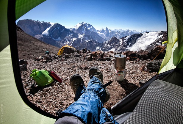 "Stunning photos from Oleg Gligoryev's collection ""Morning Views From The Tent"""