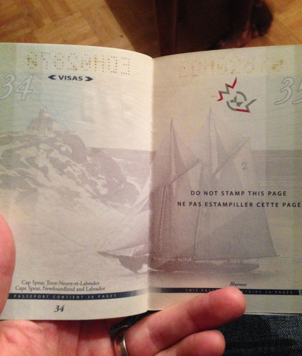 Canada finally reveals the secret about the new passport.