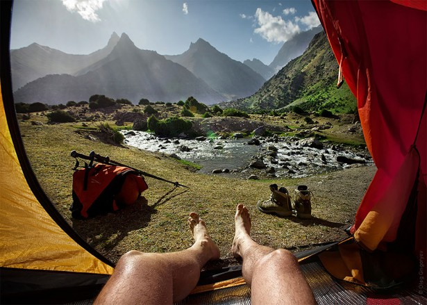 """Stunning photos from Oleg Gligoryev's collection """"Morning Views From The Tent"""""""