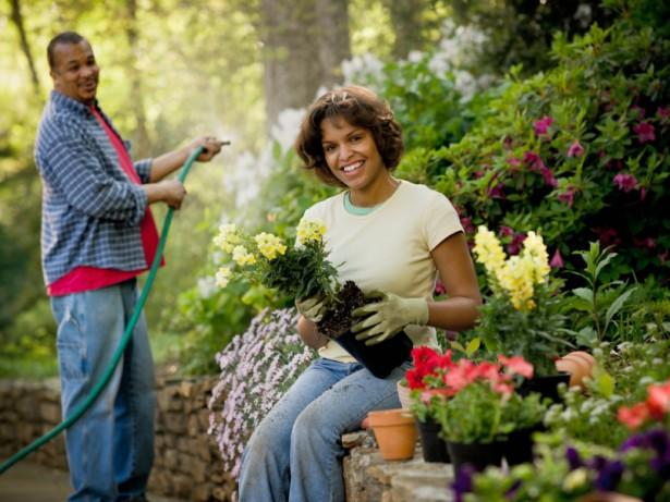 Taurus finds relaxation in gardening