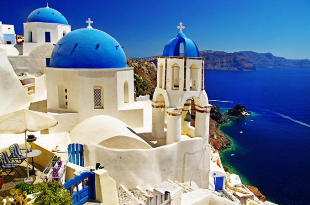 Top honeymoon destinations, Santorini