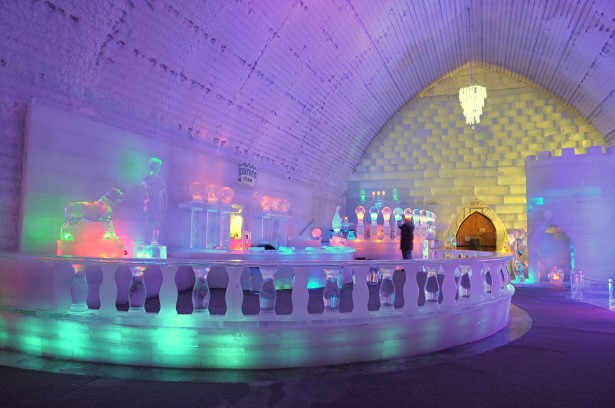 Unique hotels in Quebec in Canada, Hotel de Glace