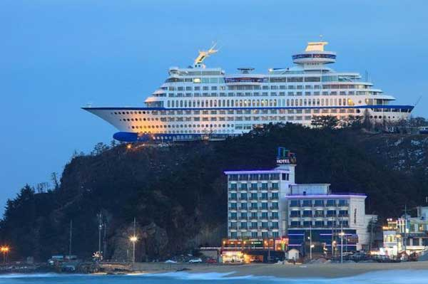Su Cruise Hotel in South Korea