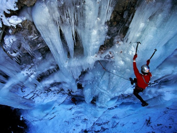 Gorges de Ballandaz Falls in France, photo via Real Aspen