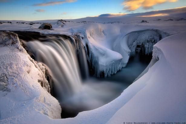 Hrafnabjargafoss Falls, Iceland, photo by Lurie Belegurschi