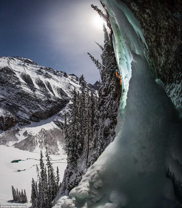 Louise Falls, Banff, Canada, photo by Paul Zizka