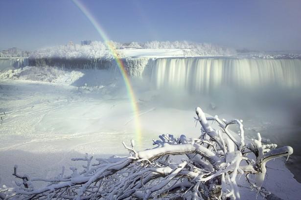 Niagara Falls in Canada, photo by Magda Bognar