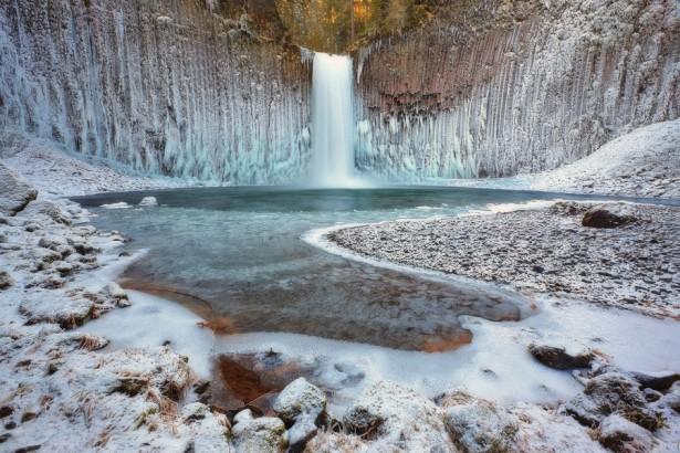 Abiqua Falls in Oregon, photo by Tula Top
