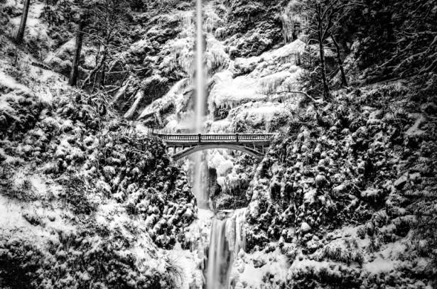 Multnomah Falls, photo by Thomas Duffy