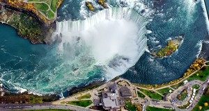 Best aerial photography of Niagara Falls in Canada
