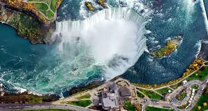 Best aerial photography of Niagara Falls in Canada