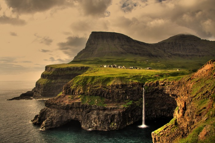 Unspoiled nature of the Faroe Islands