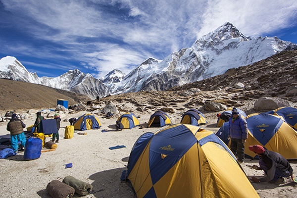If you are an adventurous spirit, Mount Everest base camp is a perfect place for you.