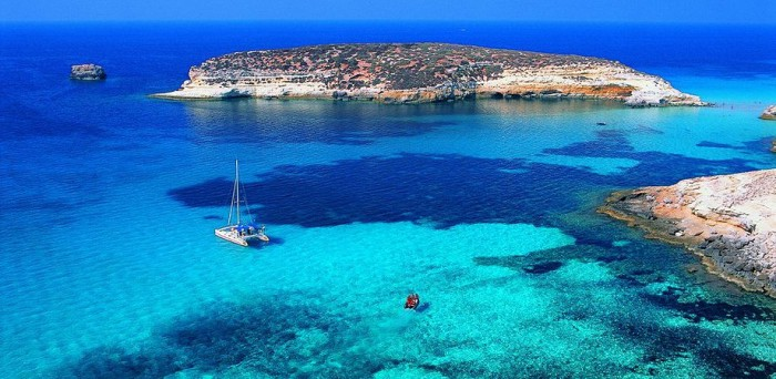 Best places to visit in Italy, Lampedusa-the Pelagie Islands