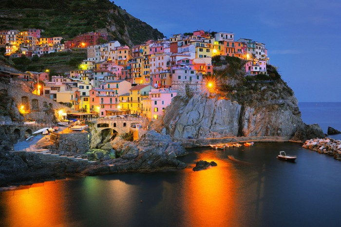 Best places to visit in Italy, Manarola village in Liguria