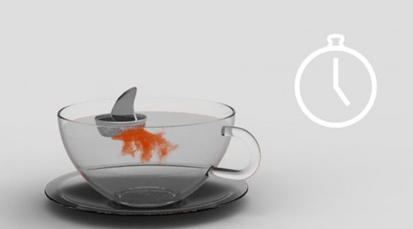 Sharky tea infuser is one of the coolest kitchen gadgets
