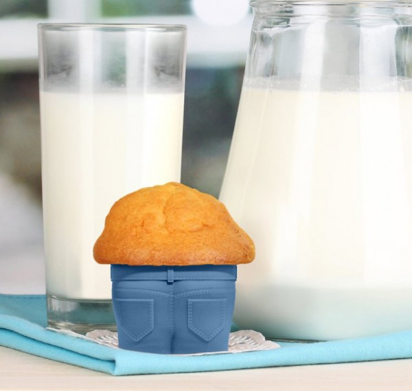 Jeans muffin baking cups are one of the coolest kitchen gadgets