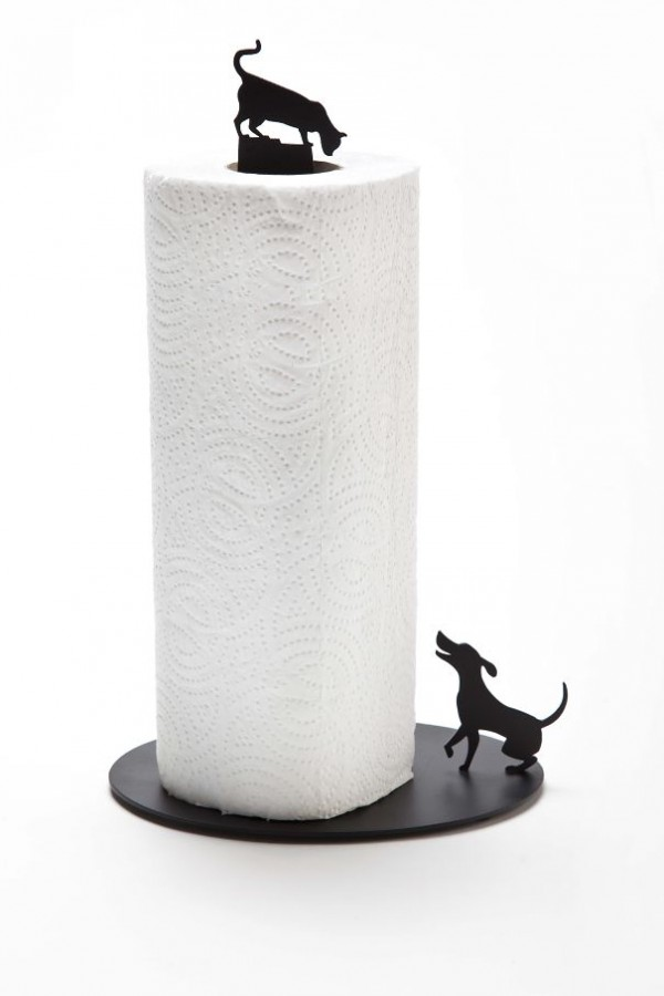 Cat vs, dog kitchen towel holder is one of the coolest kitchen gadgets