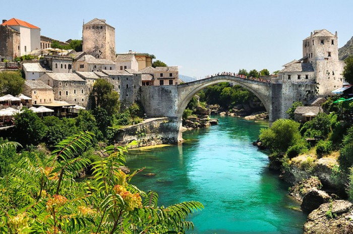 Stari Most in Bosnia And Herzegovina is one of the World's most magical old bridges
