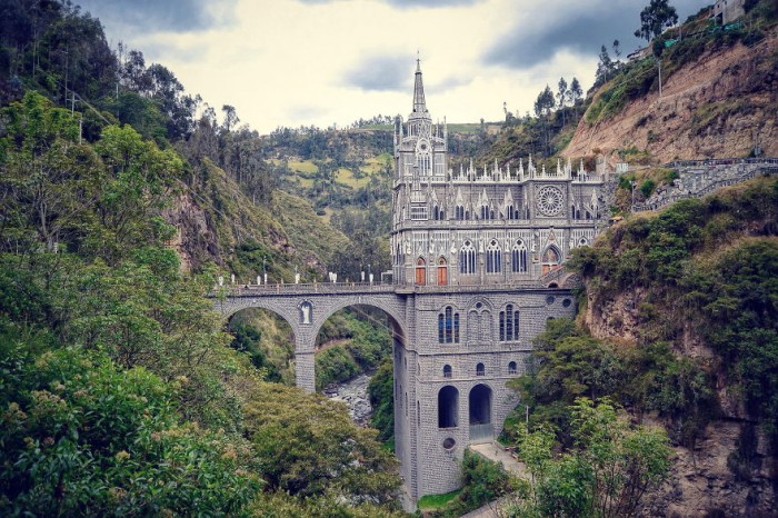 Las Lajas Sanctuary in Colombia is one of the World's most magical old bridges