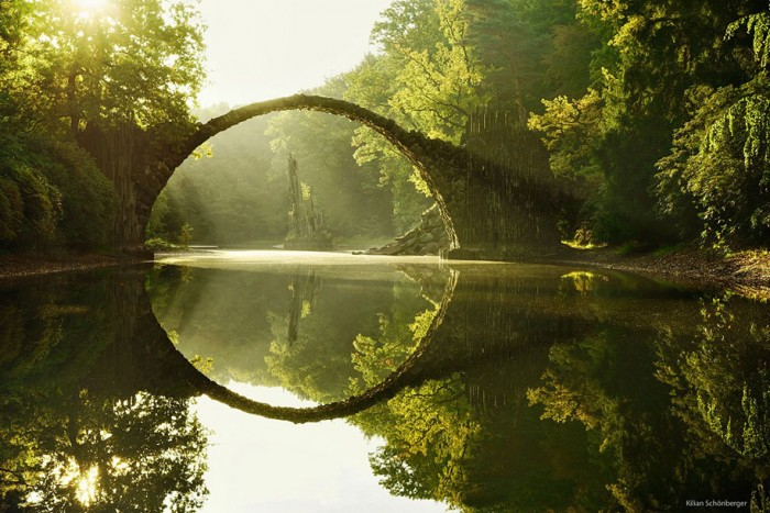 Rakotz Brücke, Germany is one of the World's most magical old bridges