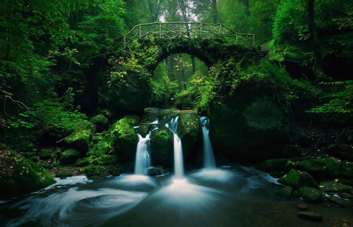 Mullerthal in Luxembourg is one of the World's most magical old bridges