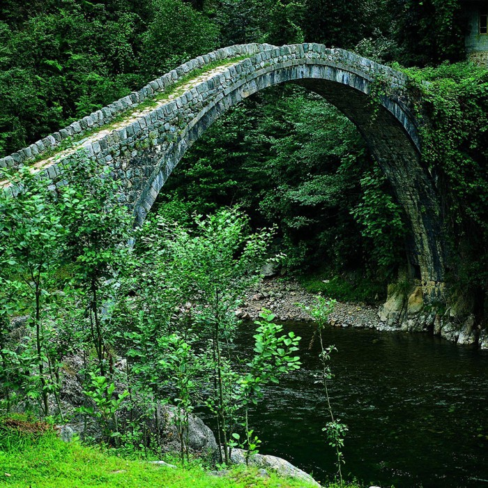 Kemer Bridge, Rize in Turkey is one of the World's most magical old bridges