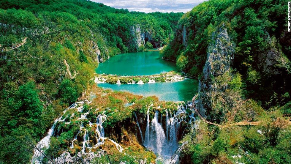 Most amazing world heritage sites, Plitvice lakes in Croatia