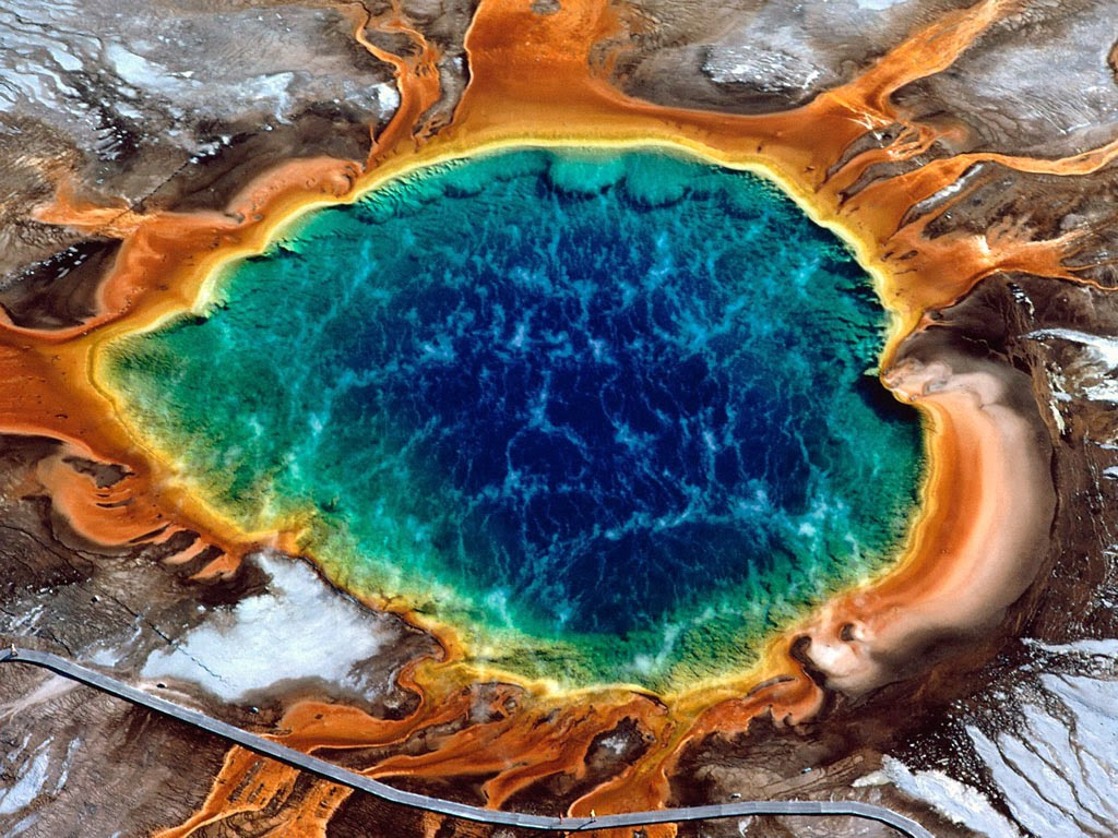 Most amazing world heritage sites, Yellowstone National Park in the United States