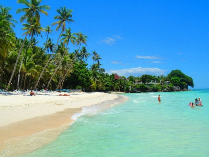 Alona beach in Bohol is one of the most attractive places to visit in the Philippines.