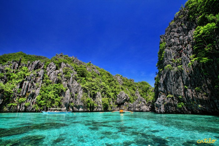 El Nido in Palawan is one of the most attractive places to visit in the Philippines.