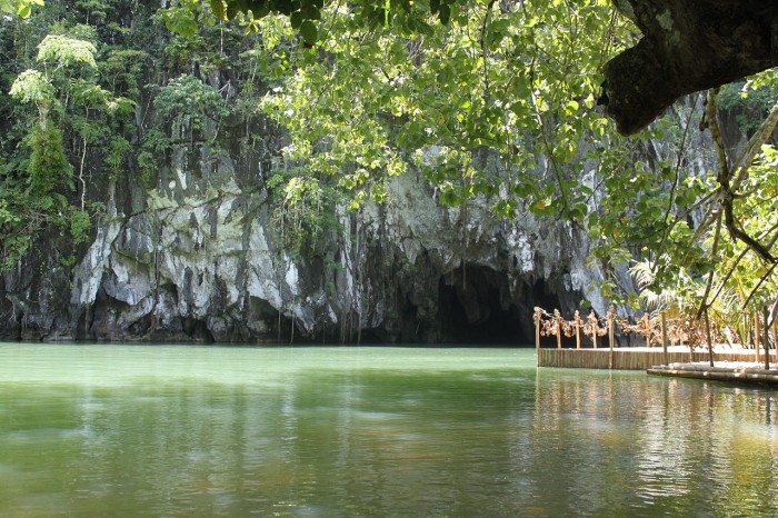 Puerto Princesa, Subterranean River is one of the most attractive places to visit in the Philippines.
