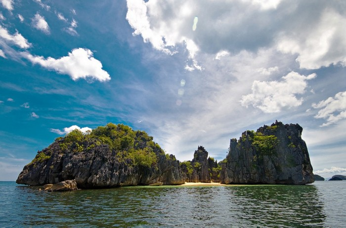 Caramoan islands is one of the most attractive places to visit in the Philippines.