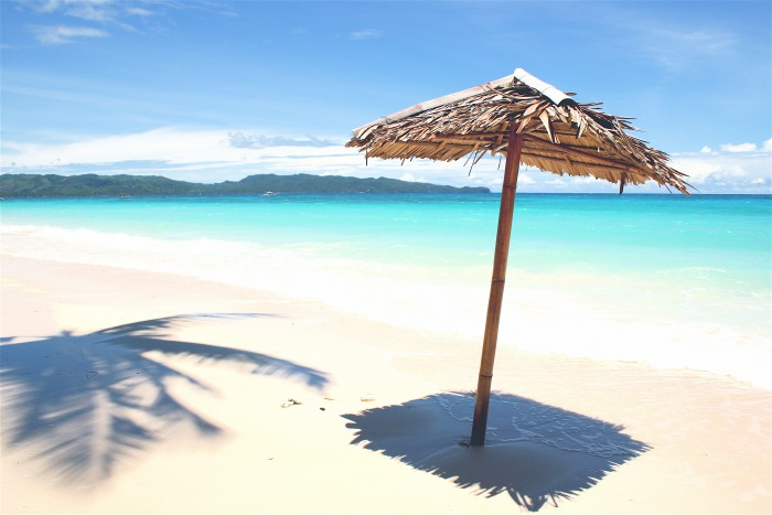 White Beach in Boracay is one of the most attractive places to visit in the Philippines.