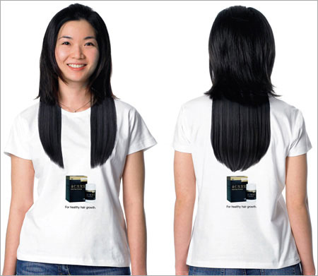 The T-shirt with the most creative design