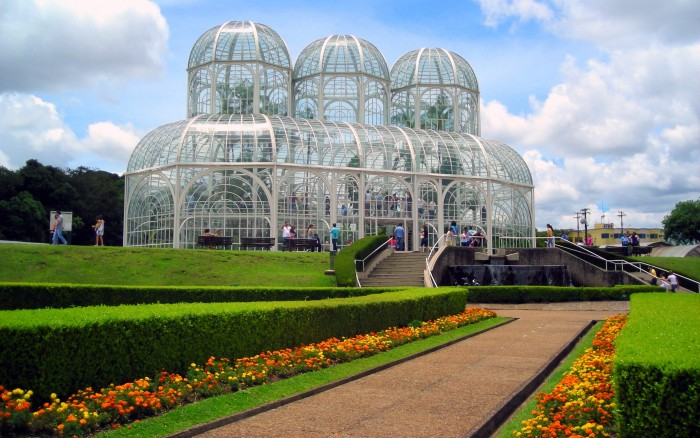 Botanical Garden of Curitiba is one of the tourist attractions in Brazil you must visit.