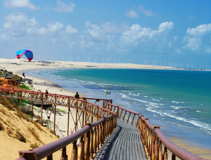 Canoa Quebrada is one of the tourist attractions in Brazil you must visit.